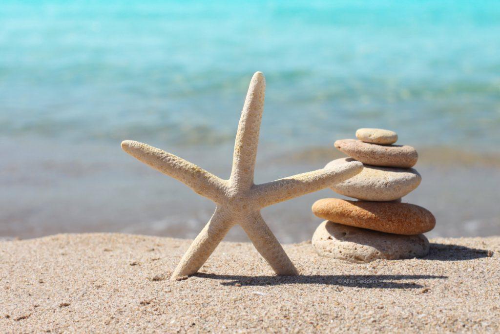 psykoterapeut hjælper med balancen